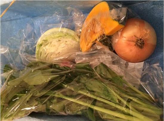 ヨシケイから届いた野菜
